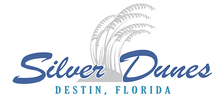 Logo - Silver Dunes Condominium is nestled in the heart of Destin, Florida on the beautiful waters of Northwest Florida's Emerald Coast.